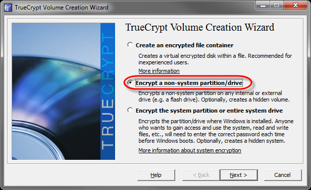 tc-2-drives-05-encrypt nonsystem